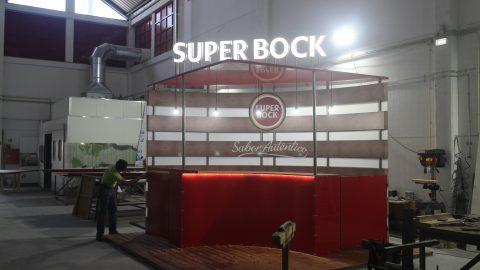 super bock stand